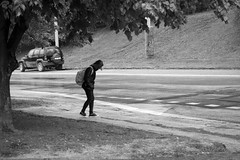 Kid in the Rain (Kojotisko) Tags: sonydscrx100 brno czechrepublic creativecommons streetphoto streetphotography