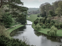 Fountains Abbey and gardens (tubblesnap) Tags: fountains abbey national trust studley royal water garden muted colours