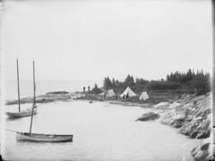 Lake Winnipeg - Geological Survey Camp, 1890 [LAC] (vintage.winnipeg) Tags: vintage history historic manitoba canada lakewinnipeg