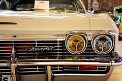 Old but Gold (Mert OZKAN) Tags: chevy chevrolet cars white yellow autoshow fair 18140 nikon d7100