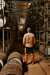 ONE: (Single) (PentlandPirate of the North) Tags: oldpulteney whisky distillery wick casks barrels caithness orangepants scotland warehouse singlemalt
