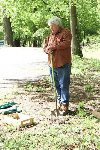 Archaeologist Eugene Boesch
