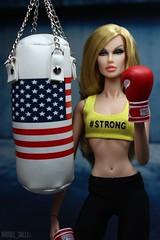 Strong is Beautiful (MARVEL_DOLLS) Tags: fashionroyalty fr fr2 integrity jasonwu fnobergdorf fashionnightout ooak reroot blondebombshell blondedoll 16scale gym workout strongisbeautiful beastmode msmarvel caroldanvers marvel marvelcomics marveluniverse comicbooktoys comicbookcharacter superhero superheroine avengers captainamerica americanflag punchingbag boxing gloves backdrop background toys playscale 12inchactionfigure 12 fraue