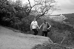 Couple on the Hill (Kojotisko) Tags: sonydscrx100 brno czechrepublic creativecommons streetphoto streetphotography