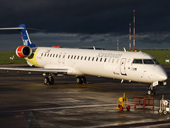 Scandinavian Airlines | Bombardier CRJ-900ER | OY-KFF (Bradley's Aviation Photography) Tags: norwich nwi norwichairport norwichinternationalairport canon70d aircraft air aviation airplane airport aeroplane airlines airways plane eastanglia scandinavianairlines bombardiercrj900er oykff sas