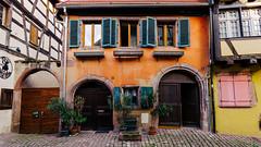 Riquewihr (JØN) Tags: nikond700 1735mm 1735mmf28d france riquewihr spring fairytale village flowers vibrant colors travel scenic