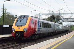 221106 @ Berkswell (ianjpoole) Tags: virgin trains 221106 willem barent 221102 john cabot working 1b32 birmingham new street shrewsbury london euston