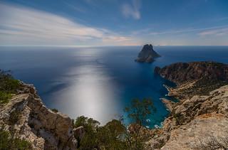 Es Vedra con la luna llena , un otro punto de vista , Ibiza ...