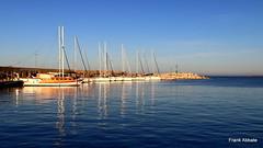 Reflections in San Foca (Frank Abbate) Tags: melendugno san foca molo barche mare sea boats adriatic lecce puglia salento apulia sud italia southern south italy water acqua riflessioni