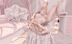#163 LOOK (Zimmimini Brianna) Tags: endless pain tattoos glam affair va savage bf astralia beusy c88 catwa cutie loot may 2017 fri maitreya mesh body rewind romp the secret hideout violent seduction uber {mossmink} ~~ a p l i q u e