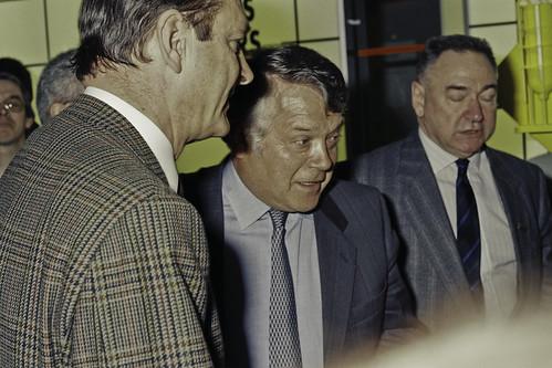 Mr JACQUES CHIRAC au SIA 1990-57-cliche Jean Weber