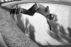 Top of the Bowl (minus6 (tuan)) Tags: minus6 leicamonochrom elmarit 128 28mm houston leeandjoejamail skateboarding skatepark