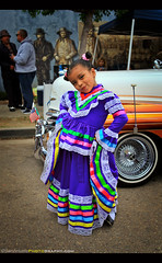 """""""Gesture will survive whatever kind of light you have. Gesture can triumph over anything because of its narrative content."""" - Jay Maisel (Sam Antonio Photography) Tags: cincodemayo celebration culture latin holiday mexicana hispanic festive fiesta mexico vertical children girl kid female cute smile samantoniophotography childrenportrait gesture lowrider car portrait streetphotography dress colorful traditionalculture travelphotography mexicanculture"""