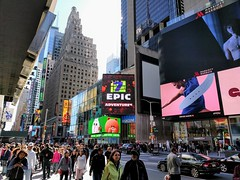 manhattan times square nyc 7th ave nexus google 5x new... (Photo: 52er Bild on Flickr)