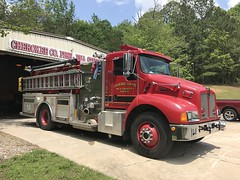 Cherokee County Engine 18 (Avery Guthrie) Tags: engine 18 kenworth fire truck cherokee county rescue department services