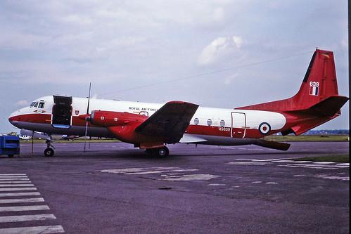 XS639 HS Andover RAF CVT 15-07-1991