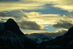 dare to dream big (~ Mariana ~) Tags: ab canada rockymountains landscape sunset canada150 clouds peaks light nikon ~mariana~ sky banffnationalpark marculescueugendreamsoflightportal outstandingromanianphotographers