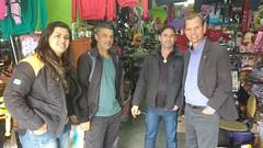 Visita aos comerciantes do Atenas I