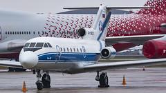 RA-88231 YK40 Vologda Airline VKO UUWW 2 (Papas.Dos) Tags: moscow vko vnukovo uuww yk40 yakovlev40 vologdaairline