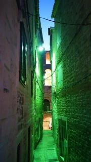 07 - Split, Croatie, Mai 2017 - une ruelle dans l'enceinte du Palais de Dioclétien