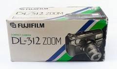 Fujifilm, DL-312 Zoom (Japon, 1995 - ?) (Cletus Awreetus) Tags: japon appareilphotographique camera vintage fujifilm dl312zoom compact format135 emballage boîte carton