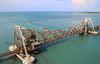 Pamban Bridge, Rameswaram (RossCunningham183) Tags: pambanbridge rameswaram india southindia tamilnadu fisherman boats birds railbridge bridge rail