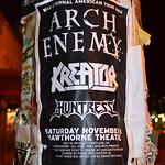 Kreator - Hawthorne Theatre, Portland, Oregon - 11/8/14