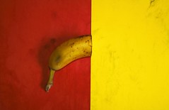 Absence (marcus.greco) Tags: conceptual banana red yellow colors surreal