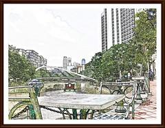down by the river (leonghong_loo) Tags: singaporeriver robertsonquay robertsonbridge
