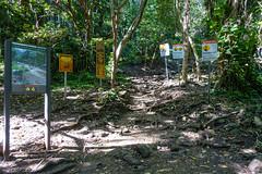 Kaui 200 DSC03685 (cpburt) Tags: kauai hawaii warningsign napalicoast kalalautrail