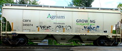 tonic - metwo - shine9 (timetomakethepasta) Tags: tonic metwo shine9 freight train graffiti art handstyle cbfx grainer agrium growing together nwo benching selkirk new york photography wholesale