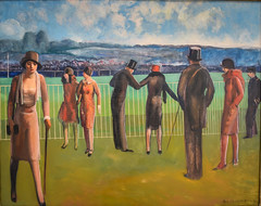 Guy Du Bois - Race Track Deauville, 1927 at Carnegie Museum of Art - Pittsburgh PA (mbell1975) Tags: french carnegie museum art pittsburgh pa pennsylvania unitedstates us guy du bois race track deauville museo musée musee muzeum museu musum müze museet finearts fine arts gallery gallerie beauxarts beaux galleria painting pgh pit pitt penna penn expression expressionist expressionism