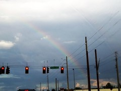 Rainbow over Midway Boulevard (SunshineRetail) Tags: rainbow midwayblvd boulevard portcharlotte fl florida
