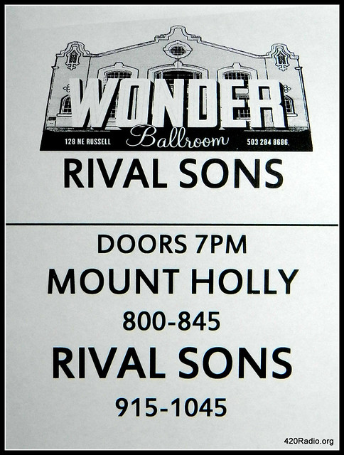 Rival Sons - Wonder Ballroom - Portland, OR - 02/04/16