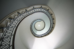 Stairwell Perspective (jtgfoto) Tags: approved stairwell staircase spiral architecture perspective wideangle usna navalacademy annapolis maryland annearundelcounty sonyimages sonyalpha nautilus