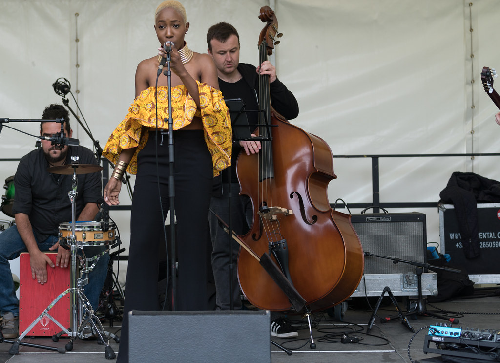 NC GREY IS A SOUL SINGER SONGWRITER [SHE PERFORMED AGAIN AT AFRICA DAY IN DUBLIN]-128607