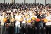 Coordinador Zonal 5 entrega balones profesionales de Baloncesto a Colegio Vicente Rocafuerte