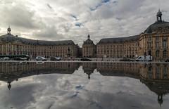 Miroir d'eau, Bordeaux (dorinser) Tags: bordeaux france reflection miroirdeau