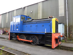 Preserved Andrew Barclay Diesel Hydraulic Locomotive 441 14042017 (Rossendalian2013) Tags: preserved dieselhydrauliclocomotive 040 andrewbarclay 441 highmarnhampowerstation midlandrailwaycentre swanwickjunction train railway