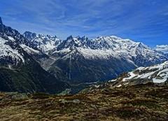 Mont-Blanc (Manon Ridet) Tags: montagne montblanc randonnée mountain sommet hautesavoie savoie rhônealpes france paysage neige glace massif aiguilledumidi chamonix