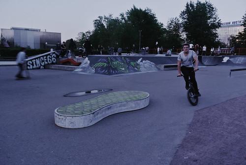 #москва #gorkypark #skatepark #nikonj1 #vscoprocessed