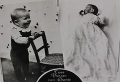 1968 Vorstenhuis (Steenvoorde Leen - 4 ml views) Tags: vorstenhuis koninklijk huis koninklijke familie monochroom 1968 prinsmaurits prinswillemalexander dynasty dynastie dinastia dutch netherlands hollanda niederlande ansichtkaart card karte family