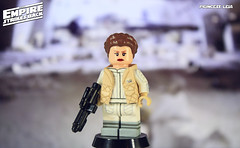 Custom LEGO Star Wars: The Empire Strikes Back | Princess Leia (LegoMatic9) Tags: custom lego star wars the empire strikes back princess leia hoth