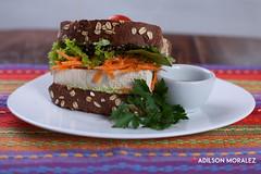 037-gastronomia-sanduiche-adilson-moralez (Adilson Moralez Fotografia) Tags: wheat alimento culinária gastronomia organics prato sanduiche sandwich