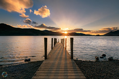 150/365 Ashness Jetty ([inFocus]) Tags: 365 3652017 project365 canon 5d 5dmkiv ashness jetty pier sunset cumbria derwent derwentwater shadows lakedistrict lake lakes
