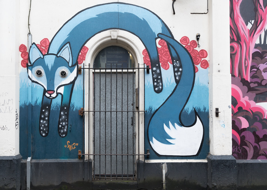 STREET ART AND GRAFFITI IN BELFAST [ANYTHING BUT THE FAMOUS MURALS]-129129
