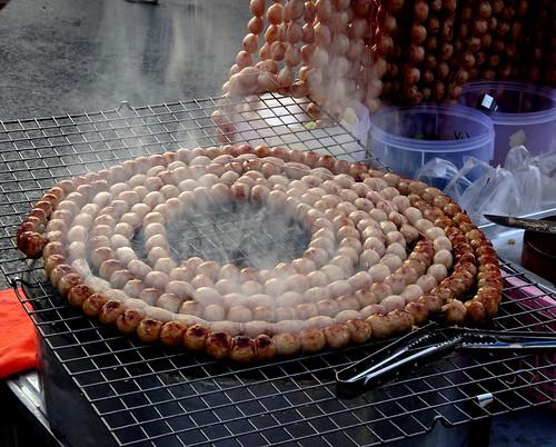 Choricitos asados