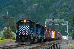 Madison St (jameshouse473) Tags: mrl sd45 sd402 emd madison taylor missoula montana hellgate canyon rattlesnake creek