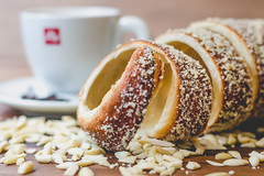 Almonds Chimney Cake (Vanili11) Tags: kürtőskalács pastery mpt553 matchpointwinner