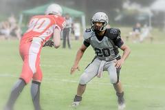Unterschätze niemals Deinen Gegenüber... (EUgenG_) Tags: american football wolfpack mg